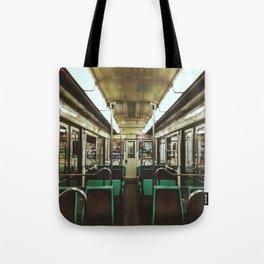 Paris Metro cab Tote Bag