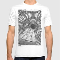 To The Point MEDIUM Mens Fitted Tee White