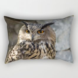 Bubo Bubo Rectangular Pillow