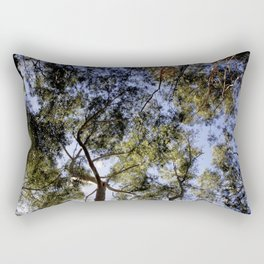Eucalyptus Tree Canopy Rectangular Pillow