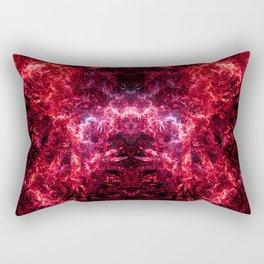 Electrocution Throne IV (Burning) Rectangular Pillow