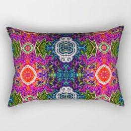 Psychedelic Renaissance Rectangular Pillow