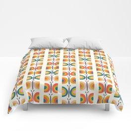 Retro Butterflies Comforters