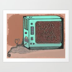 The 21st century love of your life. Art Print