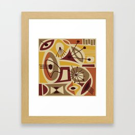 Timanfaya Framed Art Print