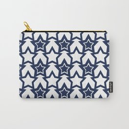 White blue stars Carry-All Pouch