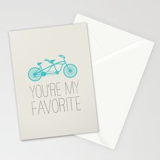 BIKE - YOU'RE MY FAVORITE Stationery Cards