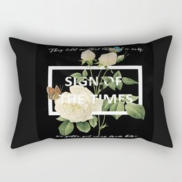 Harry Styles Sign Of The Times graphic design Rectangular Pillow