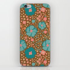 Town Square Floral iPhone & iPod Skin