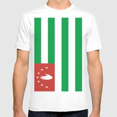 Flag Of Abkhazia Mens Fitted Tee MEDIUM White