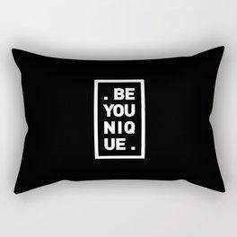 YOU AND YOURSELF (BLK) Rectangular Pillow