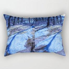the right path Rectangular Pillow
