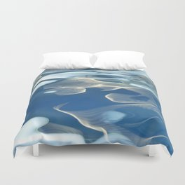 H2O # 27 Water abstract Duvet Cover