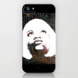 Blonde Diva iPhone Case