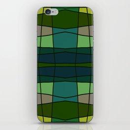 Green Pattern Turtle iPhone Skin