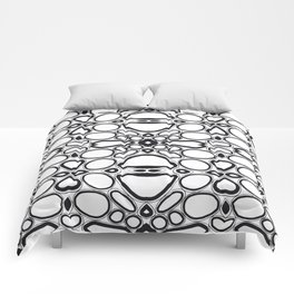 fancy grid Comforters