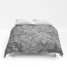 Pattern psychedelia Comforters