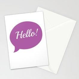 Hello, Hello Art Print, Inspirational Quote, Minimalist Decor, Word Bubble, Typography Art Print, Positivity Art Print, Motivational Quote, Motivational Art, Positivity Art Print, Hello Poster Stationery Cards