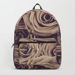 Gray roses Backpack