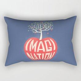 Imagination Is The Beginning Of Creation- George Bernard Shaw Quote Rectangular Pillow