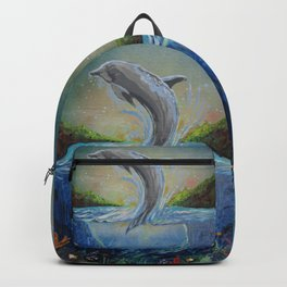 Dolphin Swim Backpack