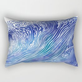 Pacific Waves Rectangular Pillow