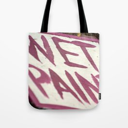 Wet Paint Tote Bag