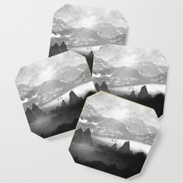 Black and White - Winter. Melody... Coaster