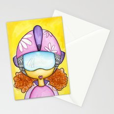 Aliem Space Explorer Girl Stationery Cards