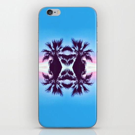 PALMADELIC BLUE iPhone & iPod Skin