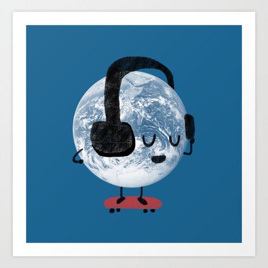 World Music Art Print