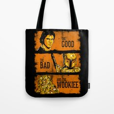 The Good, The Bad, and the Wookiee - New version Tote Bag