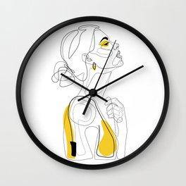 Color Beauty Wall Clock