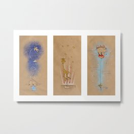 Air of Imagination Nursery Collection - I Metal Print