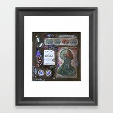 LEVEL 3 Framed Art Print