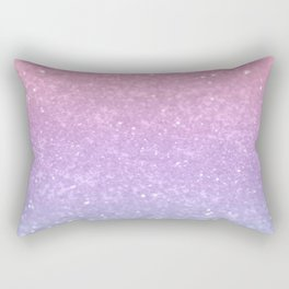 Unicorn Princess Glitter #1 #pastel #decor #art #society6 Rectangular Pillow