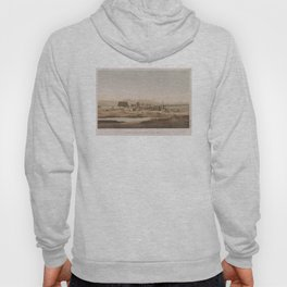 Vintage Illustration of the Thebes Ruins (1856) Hoody