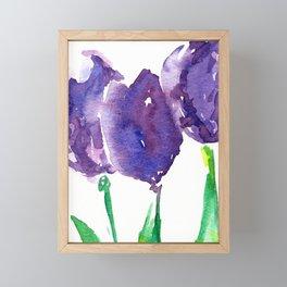 flower X Framed Mini Art Print
