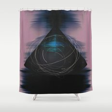 Energy Influx Shower Curtain