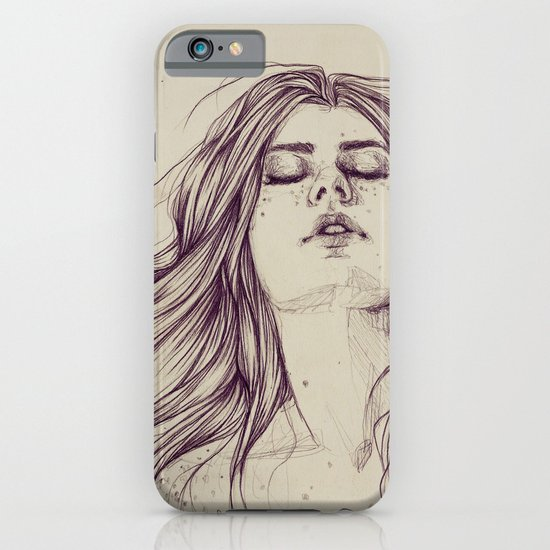 Flowing like the tide iPhone & iPod Case