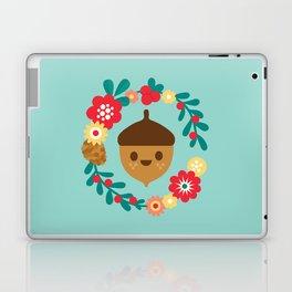 Acorn and Flowers Laptop & iPad Skin