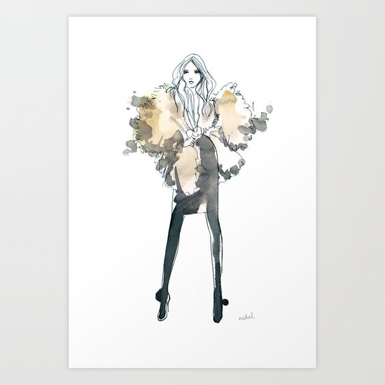 Stephanie Art Print