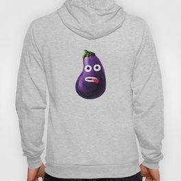 Stressed Out Eggplant Hoody