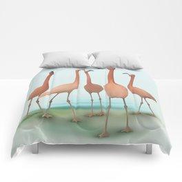 Flamingo Mingle Comforters