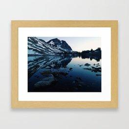 Pika lake Framed Art Print