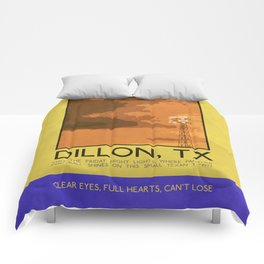 Silver Screen Tourism: DILLON, TX / FRIDAY NIGHT LIGHTS Comforters
