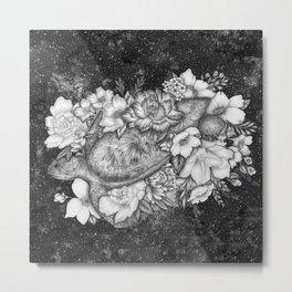 Magic Ocean: The Sea Turtle Metal Print