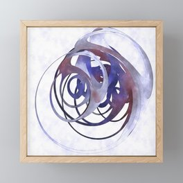 Blue for You Framed Mini Art Print