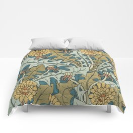 Art Nouveau Dandelion Pattern Comforters