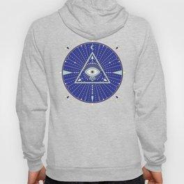 Evil Eye Mandala – Navy Hoody